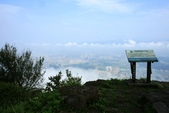 今日大尖山雲海:大尖山海拔  460m