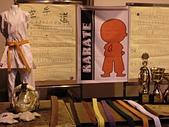 空手道服飾用品:中興大學武術週--空手道社攤位