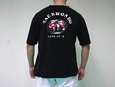 跆拳道服飾用品:$499元~跆拳道黑色T恤(1)