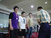 散打昇級晉段與競賽:啟倫(魔熊)受頒金牌
