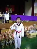 跆拳道昇級晉段與競賽:景文獲得個人品勢銅牌