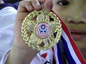 跆拳道昇級晉段與競賽:靖杰獲得個人品勢金牌
