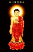 佛像、法語、因果:阿彌陀佛