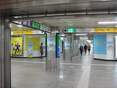 韓國首爾day2:總共有九條地鐵線-顏色區分