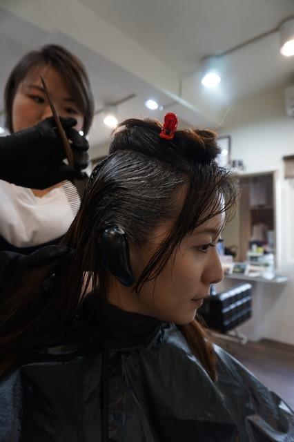 淡水SH hair染髮-2017秋冬新色-霧灰色 (19).JPG - 開箱體驗