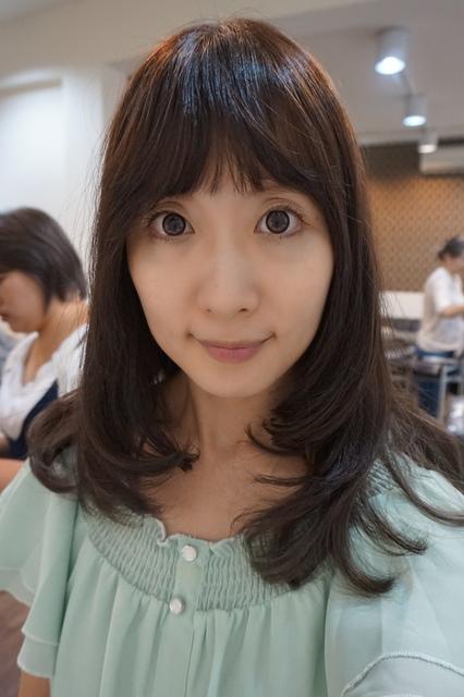 淡水SH hair染髮-2017秋冬新色-霧灰色 (1).JPG - 開箱體驗