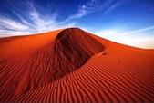 世界十大迷人沙漠:13、紅色的沙漠:澳大利亞的辛普森沙漠