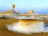 """世界十大迷人沙漠:7、埃及的""""白色沙漠"""""""