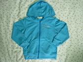 小少爺的衣櫃子:熊熊連帽長袖外套-藍 $100