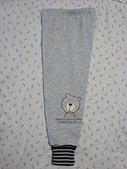 大小姐的衣櫃子:熊熊鋪棉長褲-灰 $100
