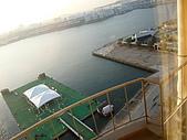 09-10-31(1)日本-大阪- HOTEL UNIVERSAL PORT:UNIVERSAL4早晨的窗外.JPG