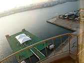 09-10-31(1)日本-大阪- HOTEL UNIVERSAL PORT:UNIVERSAL5早晨的窗外.JPG
