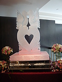10-03-14台北晶華酒店婚宴:晶華1入口冰雕.JPG