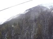 13-03-17(8)班夫國家公園-硫磺山纜車:硫磺山纜車7纜車內眺望.JPG