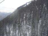 13-03-17(8)班夫國家公園-硫磺山纜車:硫磺山纜車16纜車內向旁望.JPG