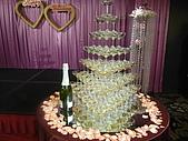 10-03-14台北晶華酒店婚宴:晶華11香檳塔.JPG