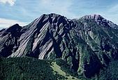 百岳-大霸尖山:小霸尖山看穆特勒布山