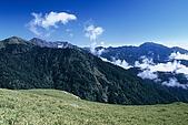 百岳-能高主峰:能高北峰北看奇萊