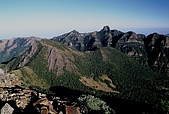 百岳-大霸尖山:品田山看大小霸