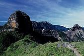 百岳-大霸尖山:大霸尖山與小霸尖山