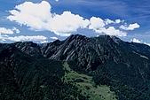 百岳-大霸尖山:小霸尖山看穆特勒布1