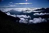 百岳-能高主峰:能高主峰雲海