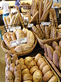 990909蘆竹張家土雞城&野上麵包:法國麵包種類好多