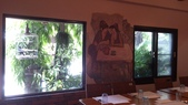 1010806小聚會~梵谷餐廳:包廂的窗