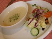 990307龍潭烏樹林午餐:馬鈴薯濃湯&生菜沙拉(1/2份)