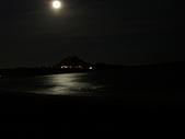 20070602~04墾丁山海戀:晚上皎潔的月光照映海面
