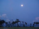 20070602~04墾丁山海戀:第三天清晨五點~高掛天空的月亮
