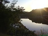 971207新竹峨眉湖二泉湖畔:太陽下山囉