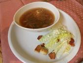 990307龍潭烏樹林午餐:洋蔥農湯&凱隡沙拉(1/2份)