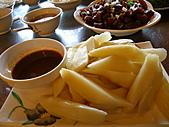 991008宜蘭頭城上山下海篇:茭白筍~醬汁普普