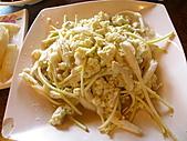 991008宜蘭頭城上山下海篇:蛋炒野薑花~超級特殊的菜,好吃&特別