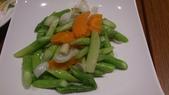 1011018南港餡老滿餃子館~下飛機第一餐:蘆筍炒百合~很清爽的菜