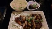 1010413平鎮黑潮魚料理:烤雞腿套餐