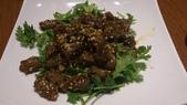1011018南港餡老滿餃子館~下飛機第一餐:孜然羊~肉挺嫩的