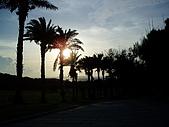 20070602~04墾丁山海戀:鵝鑾鼻燈塔前~落日