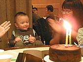 991223允昱2歲生日慶生會IN古華明皇樓:唱生日快樂歌