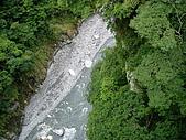 960615~17花蓮之旅:橋上拍溪谷