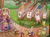 1010318台中兒童藝術館溜小孩:場景是愛麗絲夢遊仙境