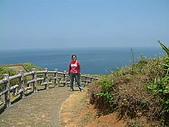 960728東北角一日遊:小徑遠眺大海