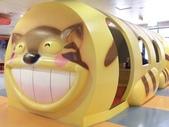 1010318台中兒童藝術館溜小孩:2樓的貓公車