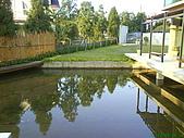 971207新竹峨眉湖二泉湖畔:水池有養魚唷