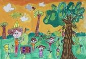 2013-我最喜歡的樹-低年級組獲獎作品:優選_張倢瑜_台南市新化國小_寶貝柚子樹.JPG