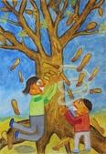 2013-我最喜歡的樹-低年級組獲獎作品:入選_何昕曈_嘉義市世賢國小_與桃花心木有約.JPG