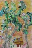 2013-我最喜歡的樹-低年級組獲獎作品:優選_許哲綸_桃園市成功國小_椰子樹下的午後時光.JPG
