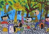 2013-我最喜歡的樹-低年級組獲獎作品:入選_周庭卉_高雄市永芳國小_美麗的黃金雨-阿勃勒.JPG