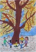 2013-我最喜歡的樹-低年級組獲獎作品:入選_林禎真_台北市建安國小_樹下玩耍真開心.JPG
